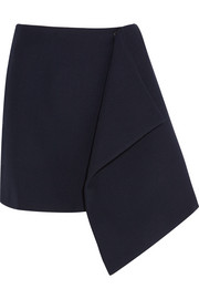 Domitz twill wrap mini skirt