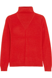 Ivréa merino wool and silk-blend turtleneck sweater