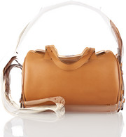 The Row Drum 10 leather shoulder bag