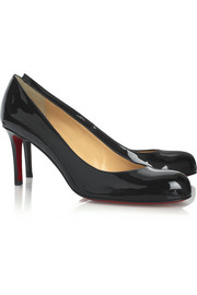 Christian Louboutin Simple 70 patent-leather pumps
