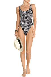 William printed swimsuit