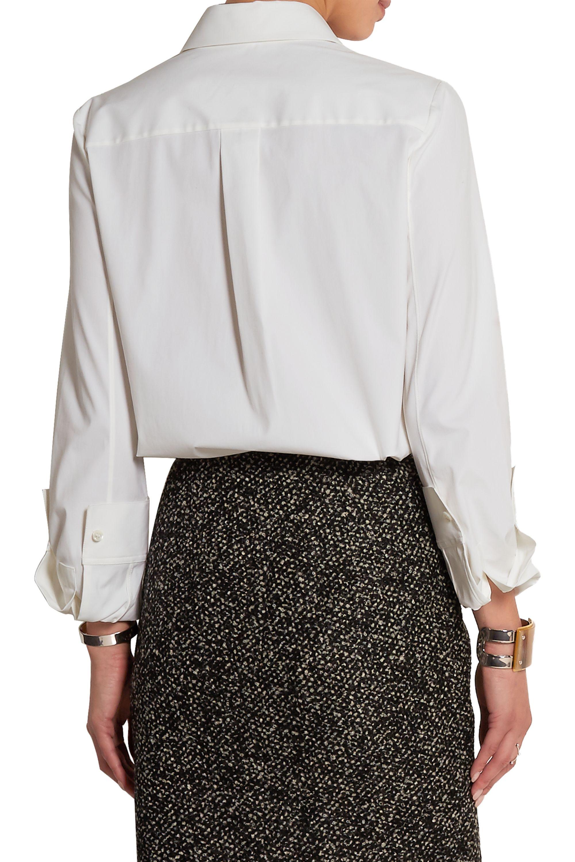 Michael Kors Collection Stretch-cotton poplin shirt
