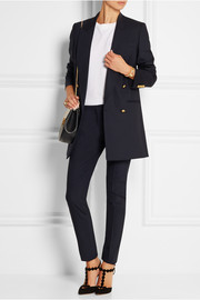 Stretch-wool gabardine blazer