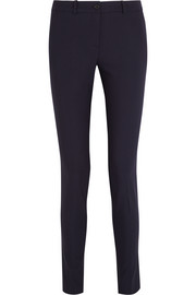 Samantha stretch-wool gabardine skinny pants