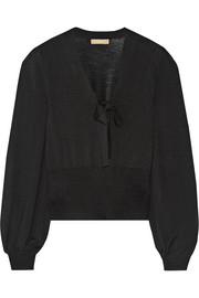 Michael Kors Wool-jersey sweater