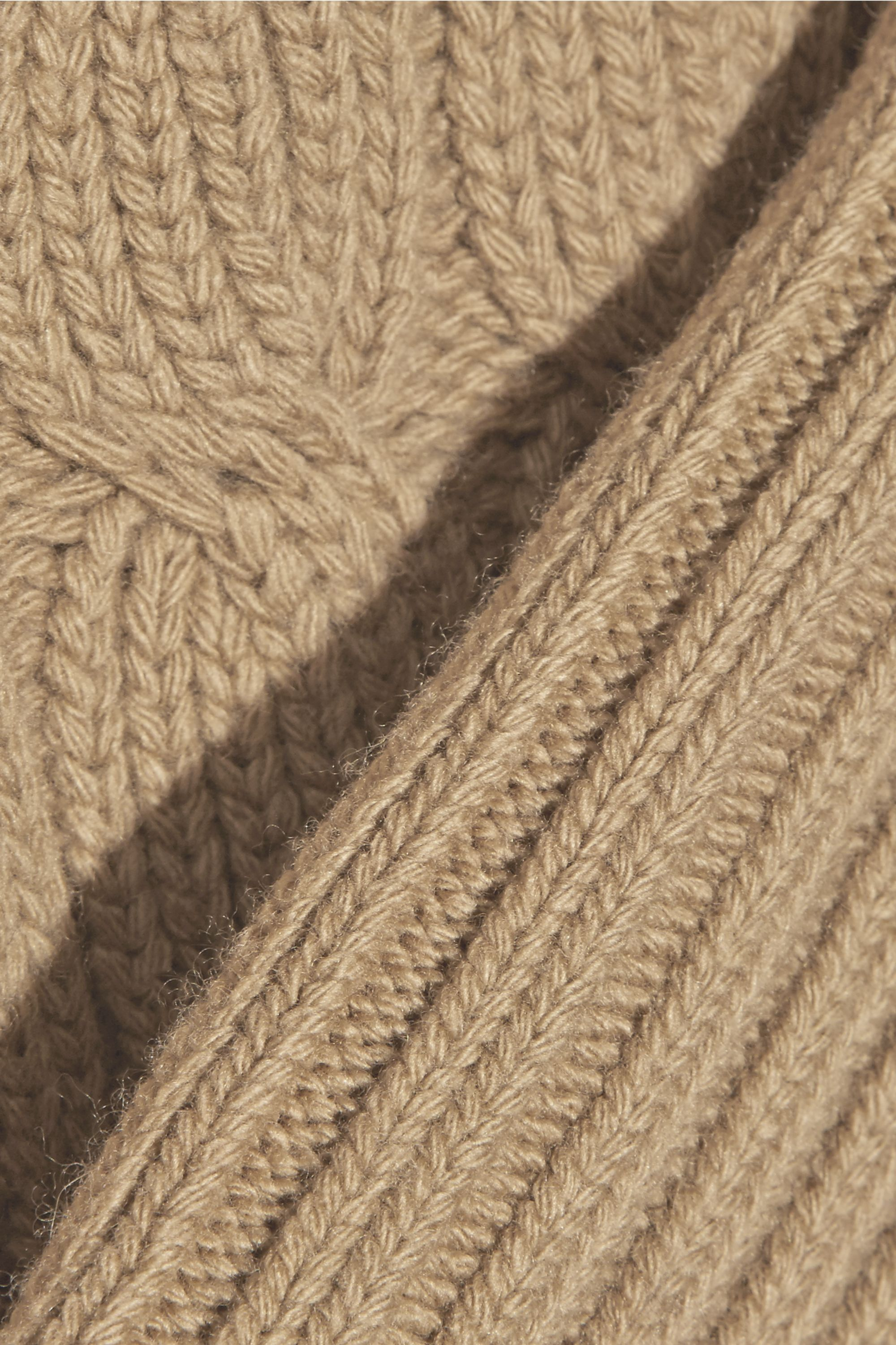Camel Merino Wool And Cashmere Blend Sweater Michael Kors Collection Net A Porter