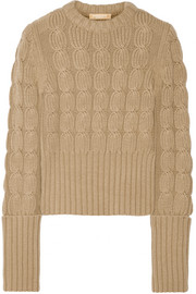Michael Kors Merino wool and cashmere-blend sweater