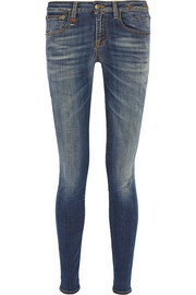 Alison mid-rise skinny jeans