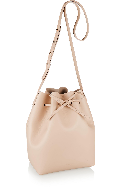Mansur Gavriel Leather bucket bag
