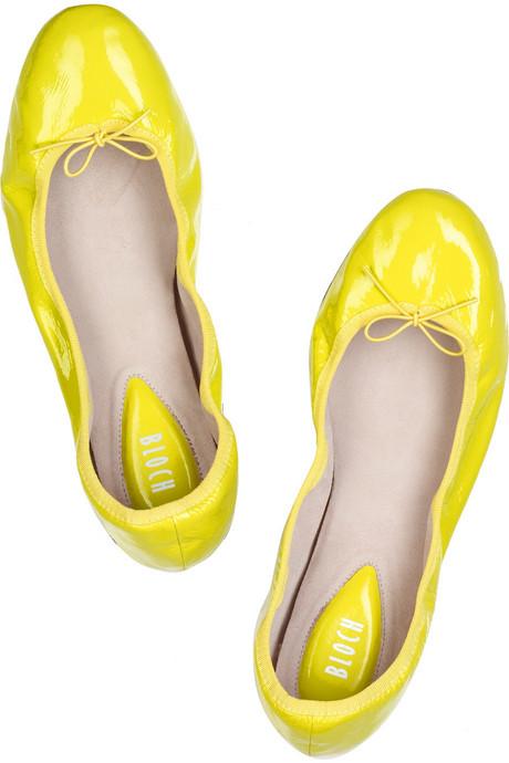 Bloch|Patent ballerina flats|NET-A-PORTER.COM from net-a-porter.com