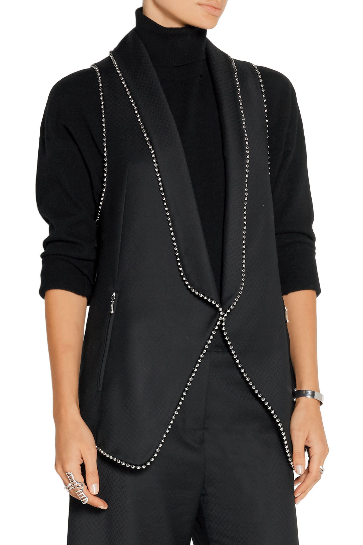 Alexander Wang Embellished wool vest