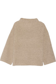 Kaila silk and cotton-blend sweater