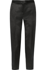 Locu silk-satin tapered pants