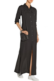 T by Alexander Wang Stretch-silk crepe maxi dress