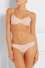 Bodas Stretch-jersey soft-cup underwired bra