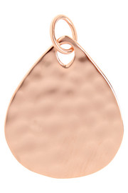 Monica Vinader Ziggy rose gold-plated pendant