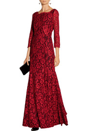 Zarita lace gown