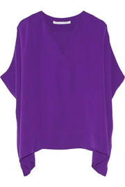 Kora silk crepe de chine top