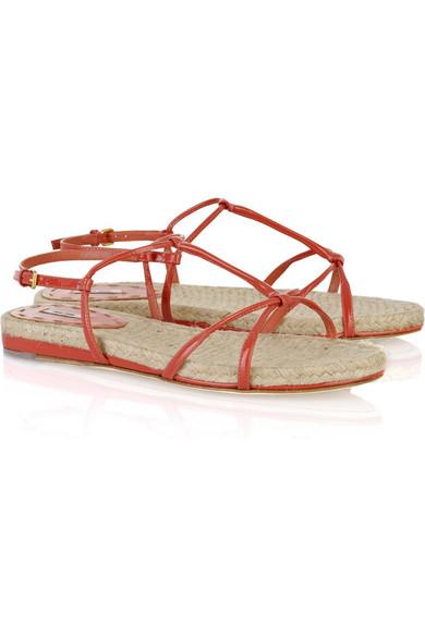 Miu Miu Raffia sandals h258sKu2A