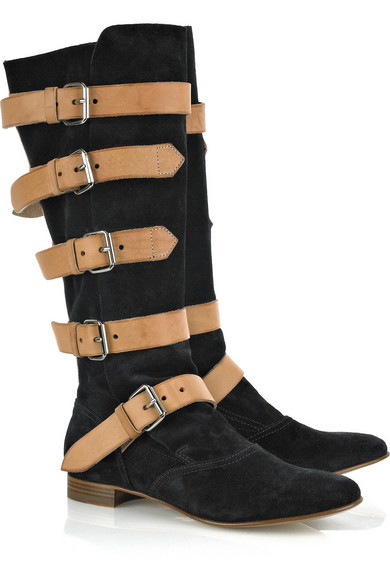 Vivienne Westwood   Suede pirate boots
