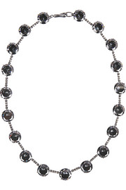 Collana sterling silver cubic zirconia necklace