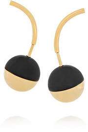 Marni Gold-plated resin earrings