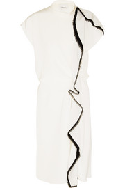 3.1 Phillip Lim Ruffled silk-crepe midi dress