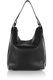 Prisma Hobo textured-leather tote