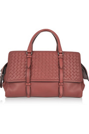 Monaco medium intrecciato leather tote