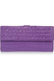 Bottega Veneta Crocodile wallet