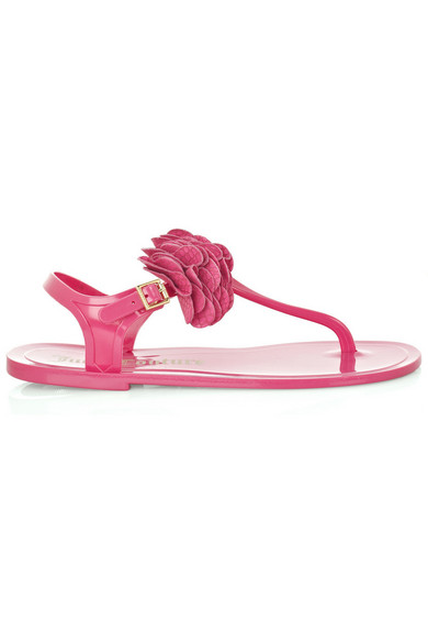 9fcb8b3a1ed9 Juicy Couture. Flower jelly sandals.  40. Zoom In