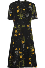 Windermere floral-print crepe dress
