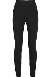 Maida stretch-cotton twill skinny pants