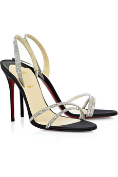 Christian Louboutin Anna Strass 100 sandals
