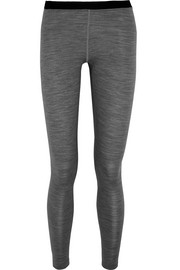 Mover Merino wool-jersey leggings