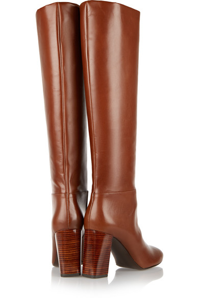d089eaf1b Tory Burch. Devon leather knee boots.  208.50. Zoom In
