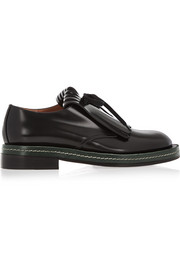 Marni Fringed leather brogues