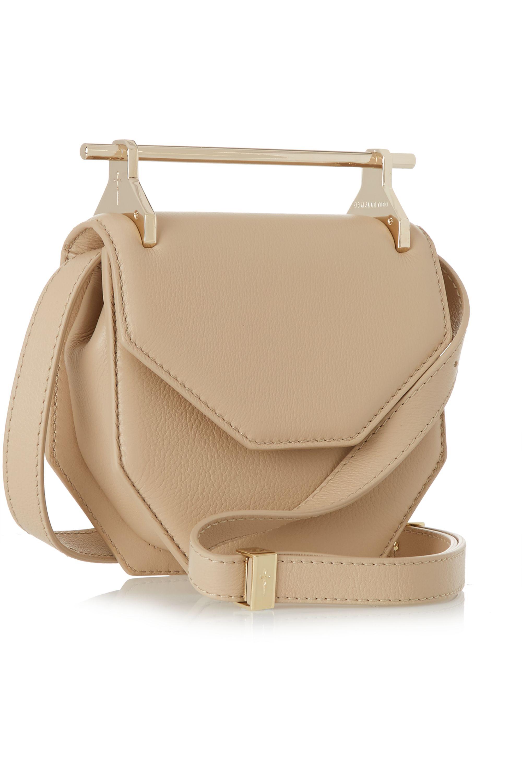 M2Malletier Amor Fati mini leather shoulder bag