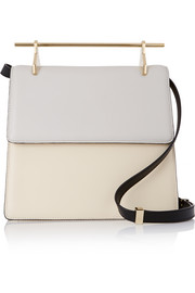 La Collectionneuse leather shoulder bag