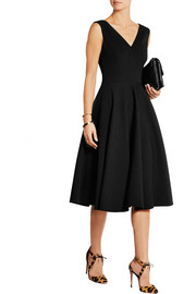 Dolce & Gabbana Wool-blend gabardine dress