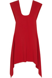 Asymmetric stretch-cady tunic