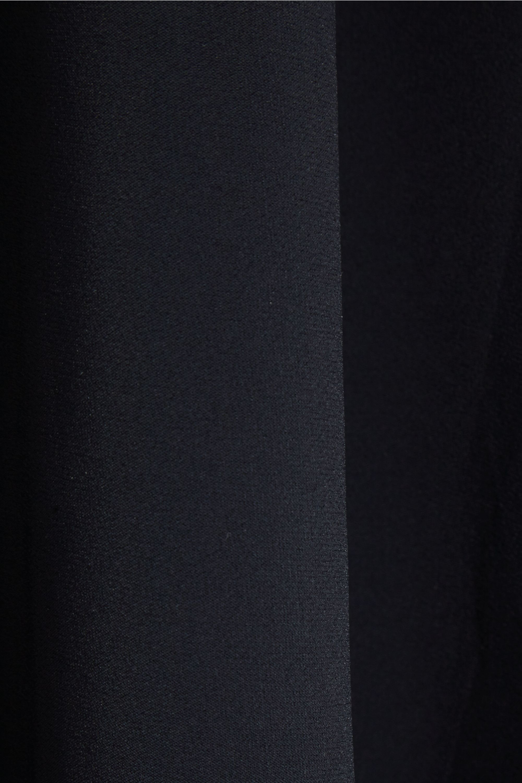 Marni Asymmetric stretch-cady maxi skirt