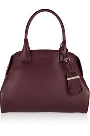 Cape medium leather tote