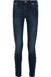Harvey studded skinny jeans