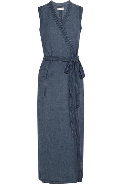 cfcb54ccc4 Madewell. Denim wrap dress