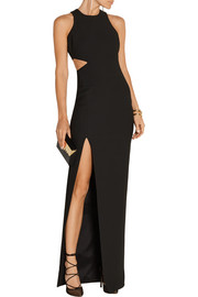 Giulia cutout stretch-jersey gown