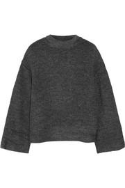 Kirk stretch-bouclé turtleneck sweater