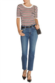 The Sabine high-rise straight-leg jeans