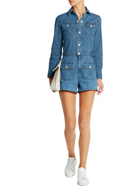 The Loretta denim playsuit