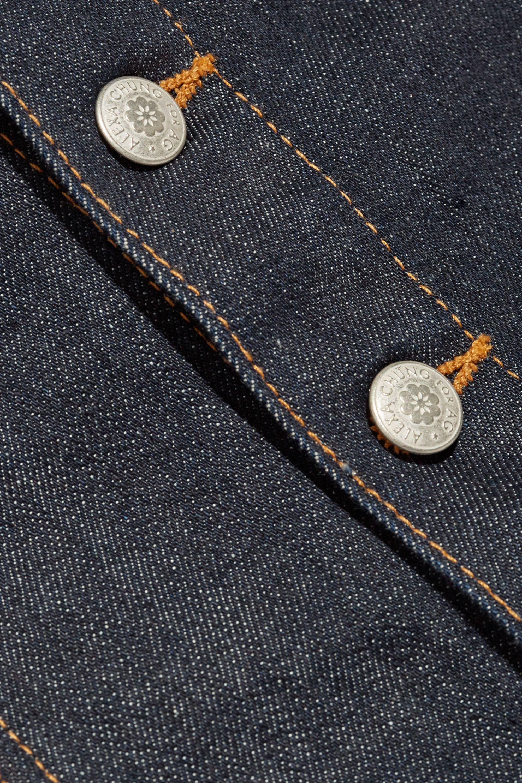 Alexa Chung For AG Jeans Kety denim mini skirt